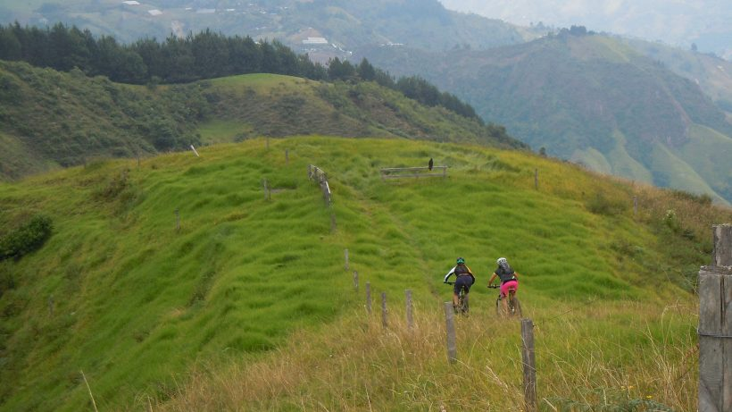 mountain bike tour in Colombia